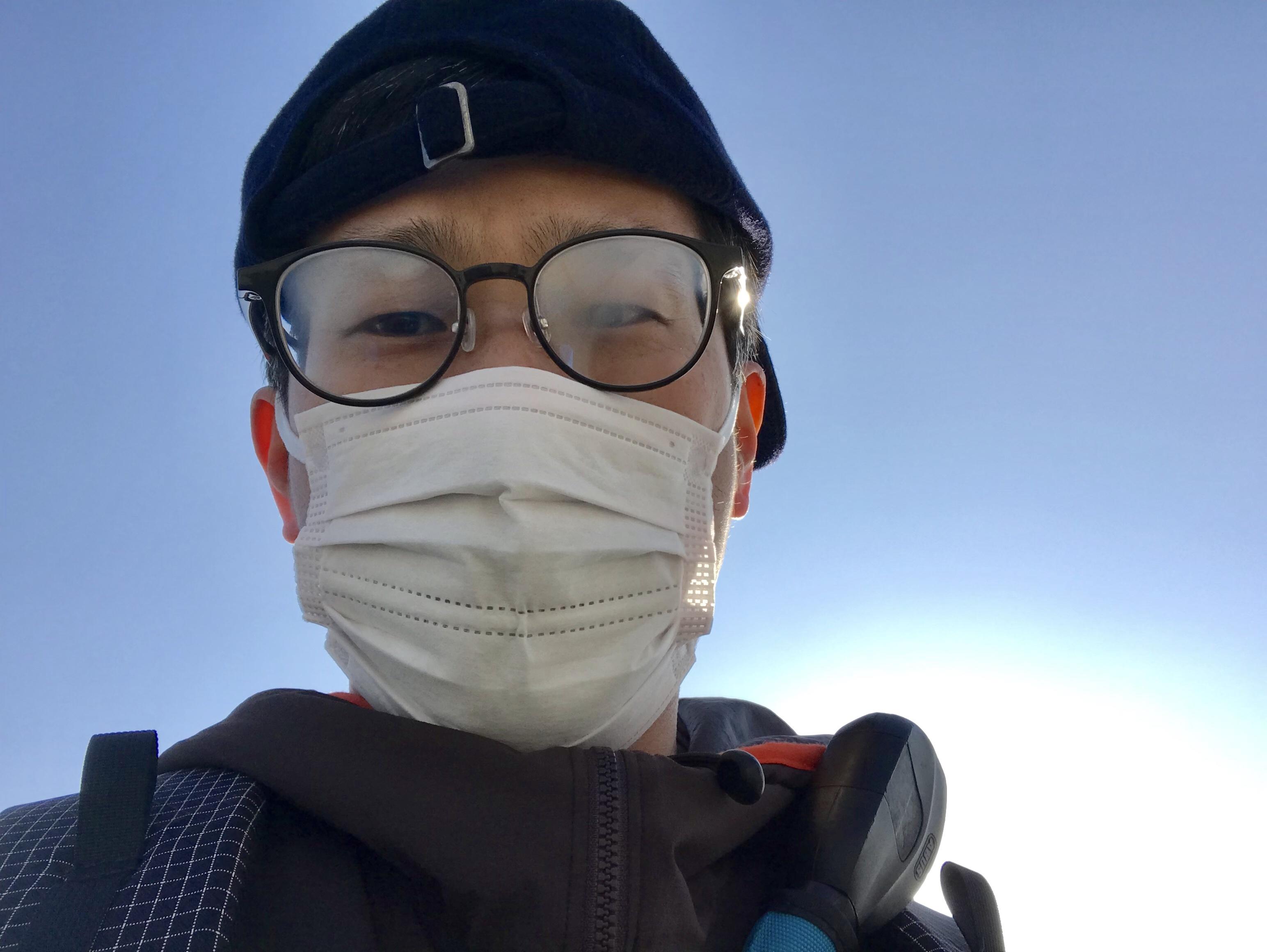 警視庁直伝マスクで眼鏡が曇らないようにする方法を実際にやってみ
